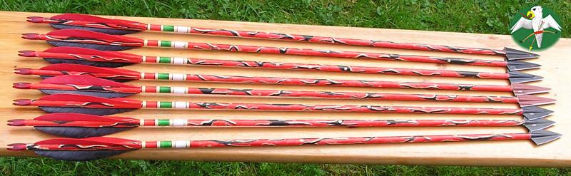 ... einige meiner Jagdpfeile für 2005  © Falk 2005