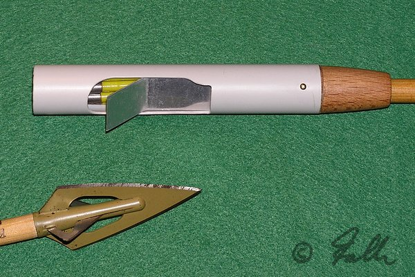 Shotgun-Arrowhead with 'full Missle Load'   © Falk 2008